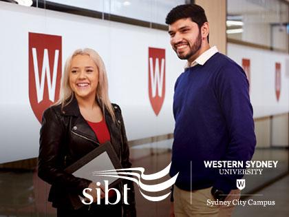 SIBT and Western Sydney University Sydney City Campus